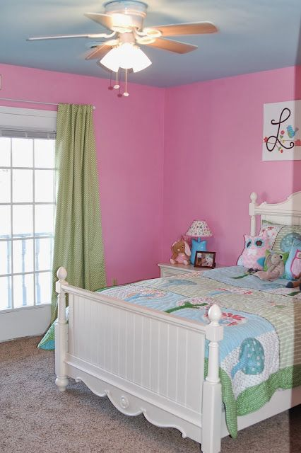 Lilli S Room Before And After Room Pink Room Home Decor