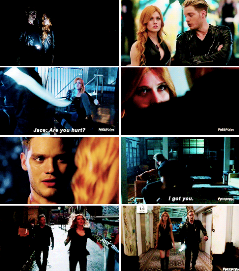 Clary and Jace #Shadowhunters