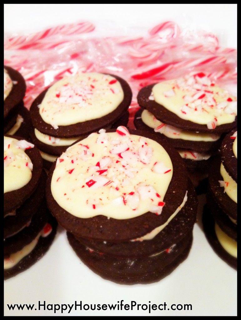 Peppermint Bark Cookies!