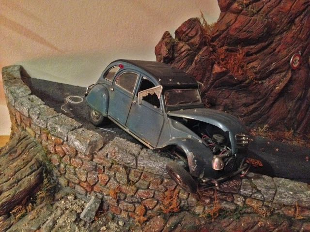 Citroen 2cv Dupont Chateau De Moulinsart Tintin Car Model Art Cars Car Artwork