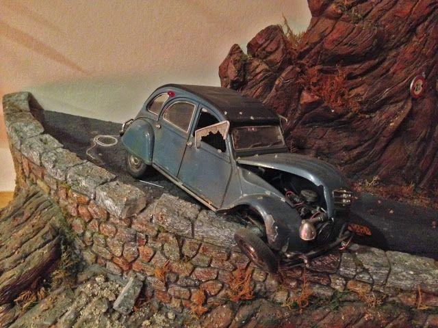 Citroen 2cv Dupont Chateau De Moulinsart Tintin Car Model Art Cars Car Artwork