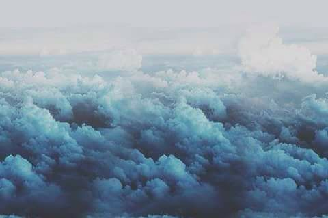 Blue Clouds Clouds Sky Aesthetic Sky Images