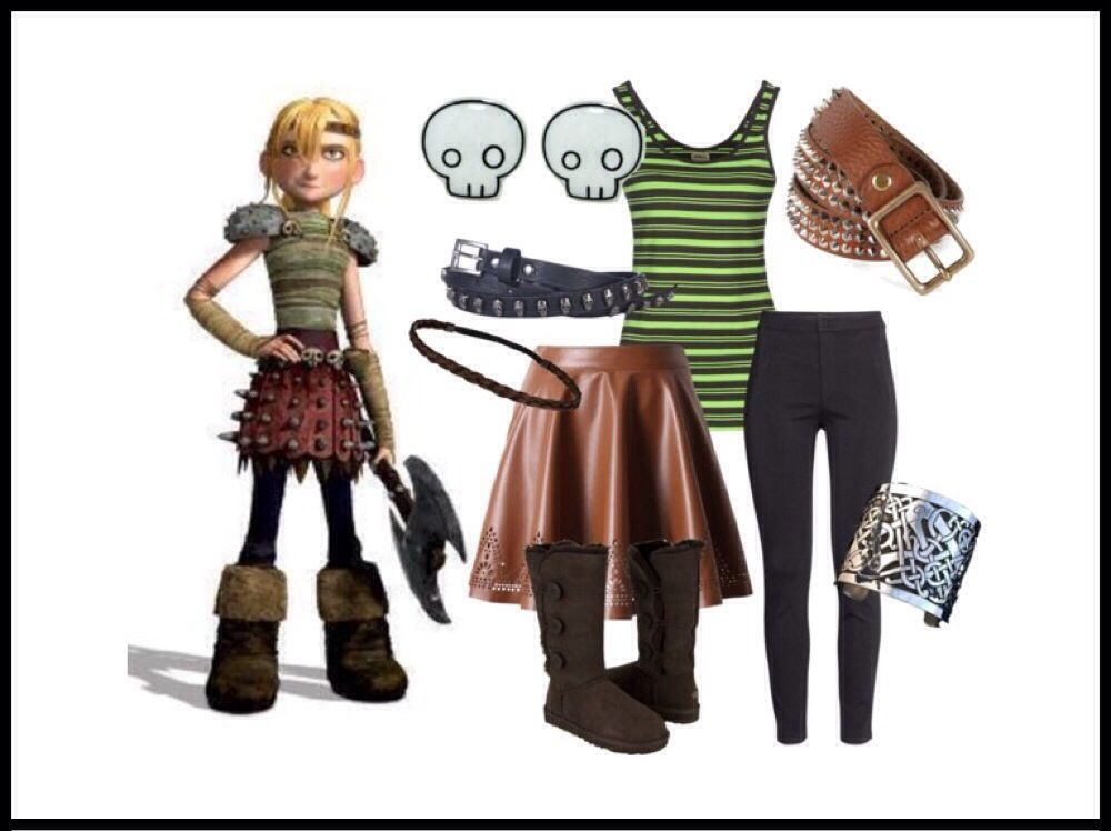 heather how to train your dragon costume
