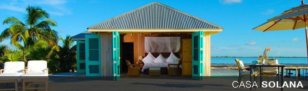 Casa Solana On Cayo Espanto A Private Island Off The Coast Of Belize