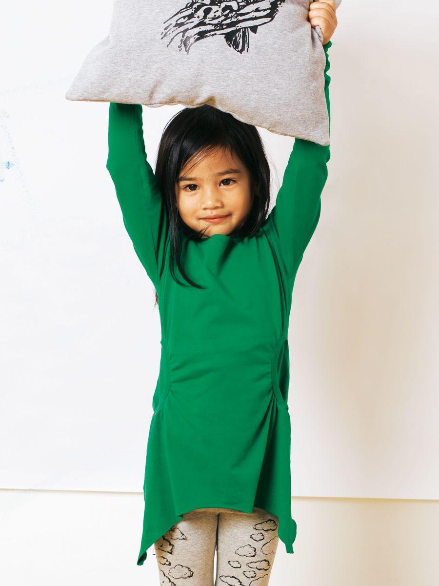 Mädchenshirt   Mode zum Selbernähen im burda style ...