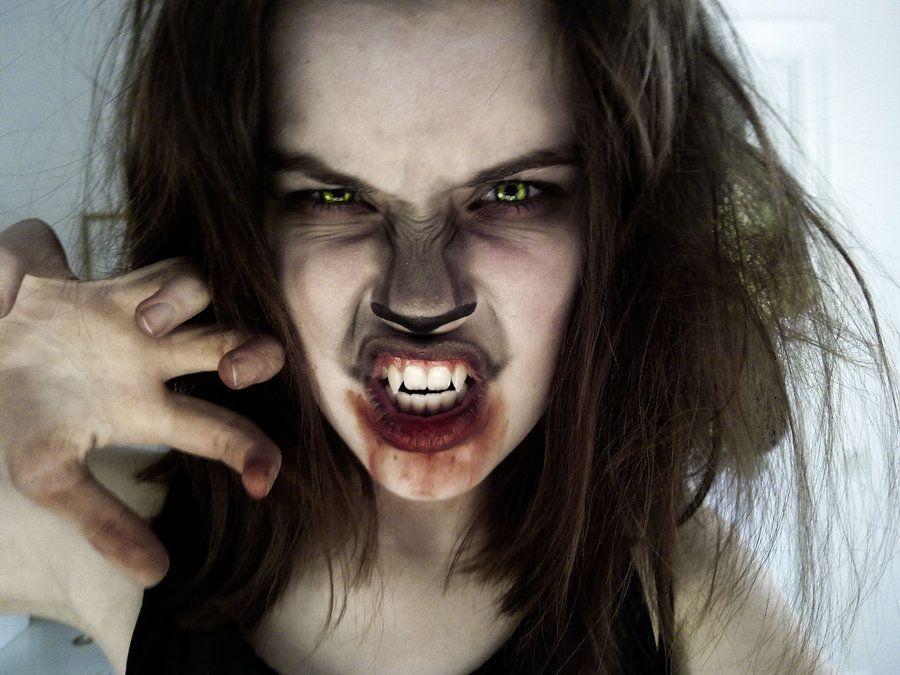 Werewolf by Mirishdeviantart on @deviantART Halloween