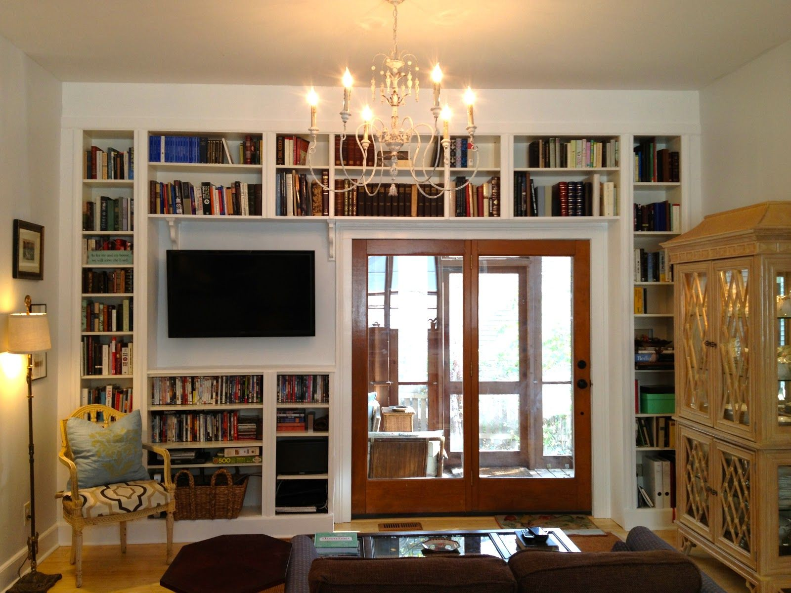 Wonderful Making Built In Shelves From Ikea Bookshelves | Built In Bookshelves Before  U0026 After: Ikea Part 28
