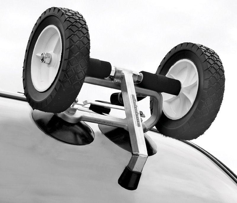 Rollerloader, Canoe & Kayak Car Loading Kayak roof rack
