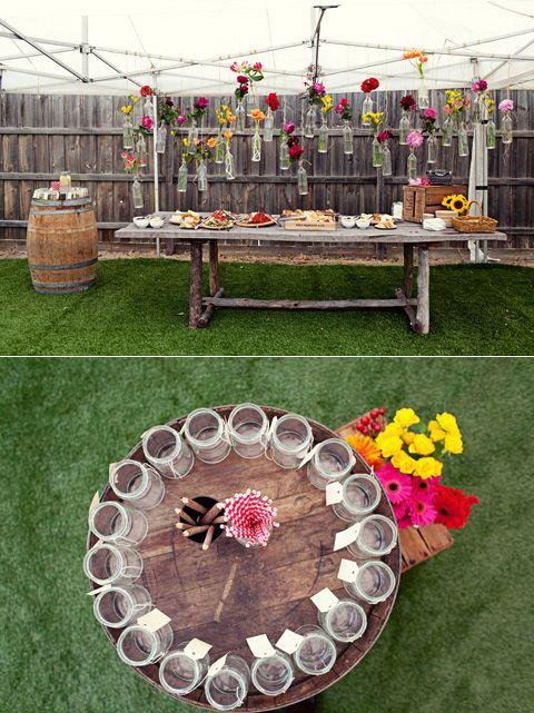 Outdoor Wedding Decorations Ireland : Outdoor party decor parties surprise wedding backyard weddings
