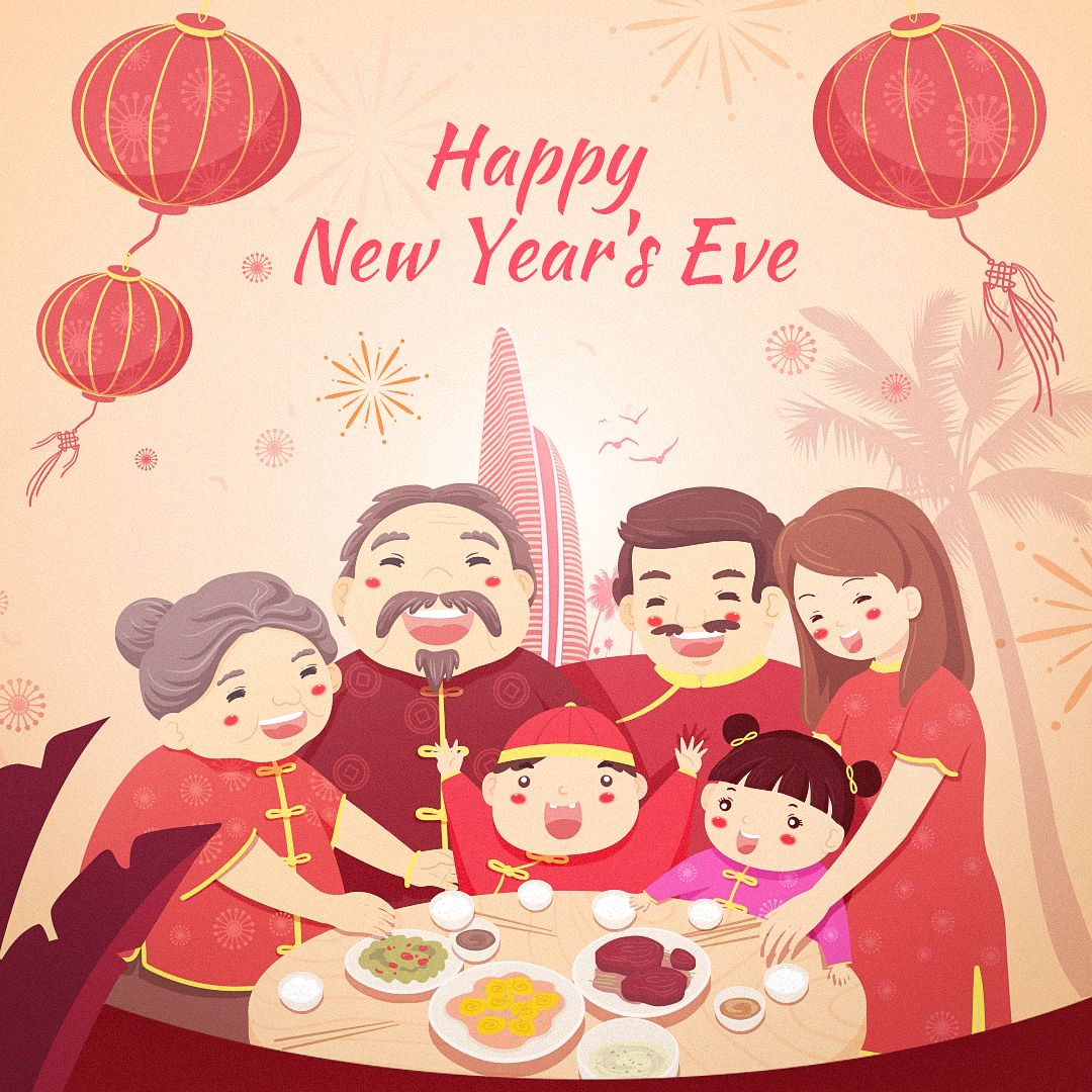 The Biggest Event Of Any Chinese New Year S Eve Is The Annual Reunion Dinner This Meal Is Comp In 2020 Chinese New Year Eve Happy Chinese New Year Happy New Years Eve