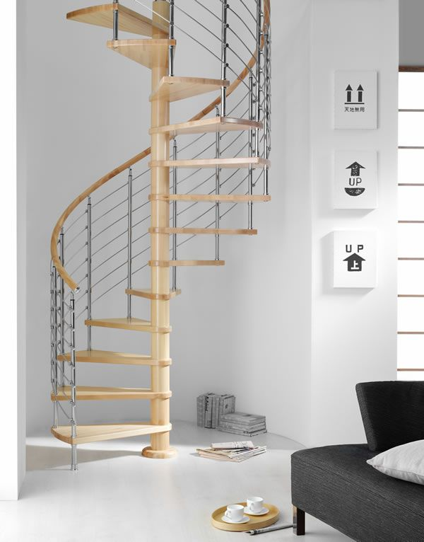 Best The Diable Spiral By Mobirolo Spiral Staircase Home 400 x 300