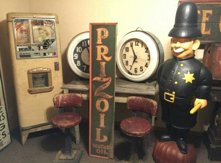 Prizoil Motor Oil Sign