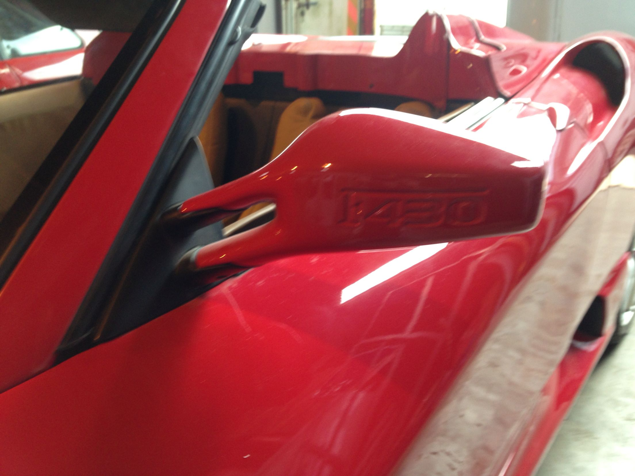 Plastic Injection Moulded Door Mirrors. Ferrari F430 Replica Based On Toyota  MR2 Roadster Built By