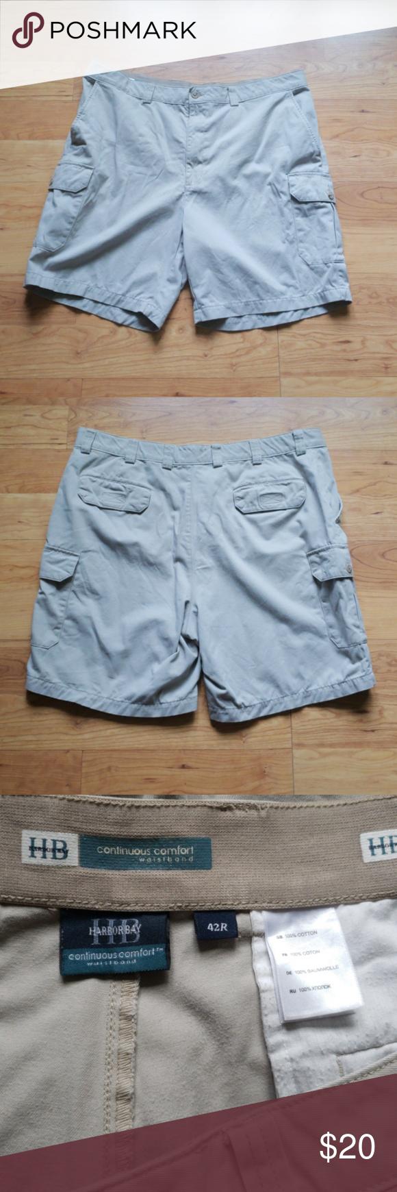 083c270ff8 Harbor Bay cargo shorts Continuous comfort waistband harbor bay Shorts Cargo
