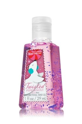 Twisted Peppermint Pocketbac Sanitizing Hand Gel Anti Bacterial