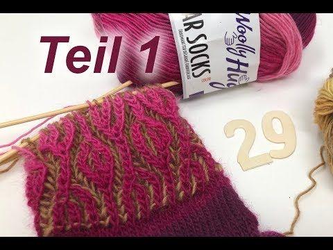 Photo of Socken im Relief Patent Stricken – Einfach – Teil 1