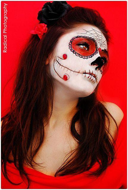 Lu Sugar Skull by Radical Photography