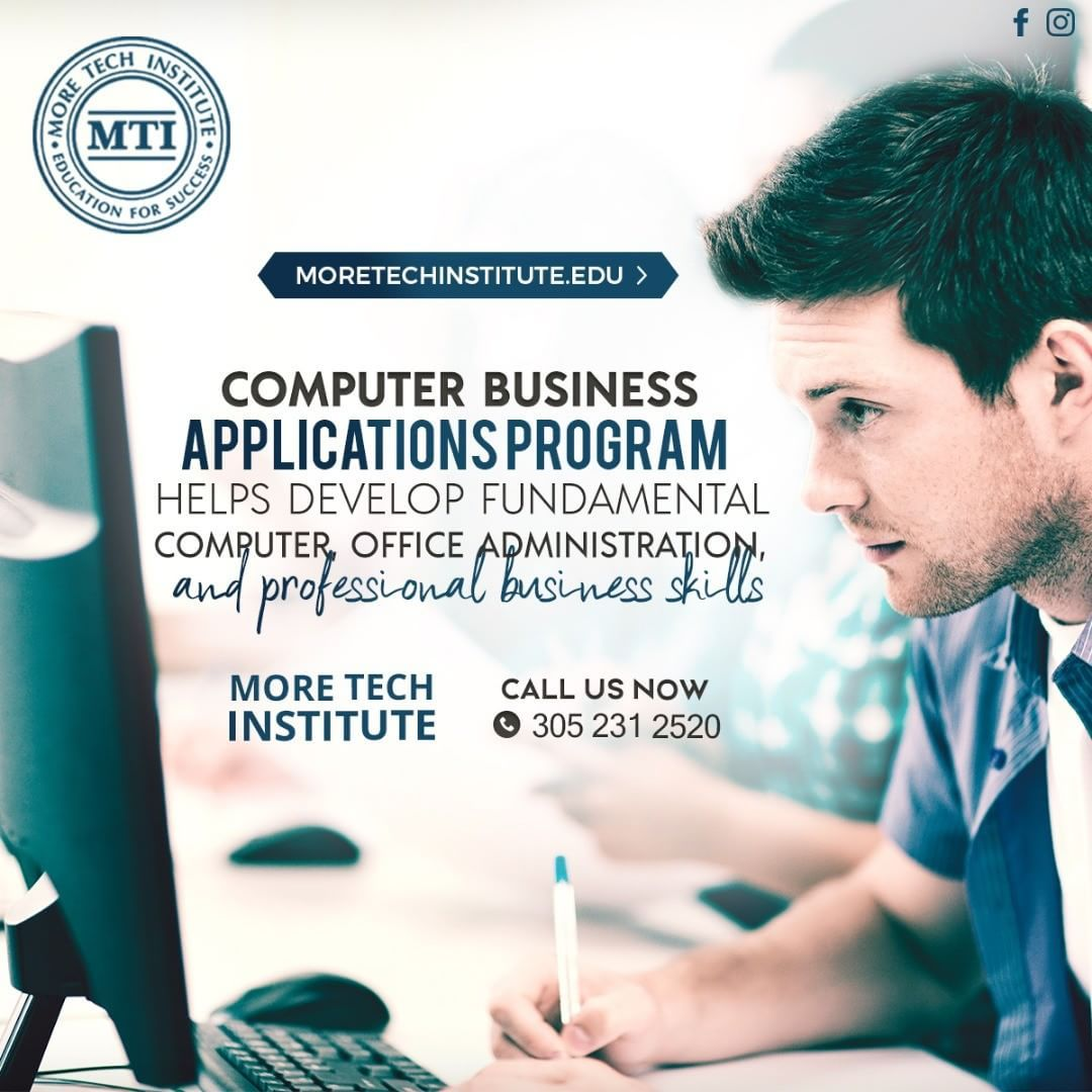 Computer business applications program helps develop fundamental computer business applications program helps develop fundamental computer office administration and professional business skills classes starting 1betcityfo Images