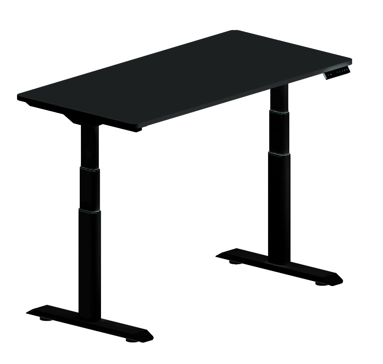 2018 Steel Black Color Electric Height Adjustable Desk Find