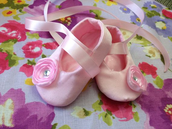 Hey, I found this really awesome Etsy listing at http://www.etsy.com/listing/152901014/pink-on-pink-ballerina-flower-baby
