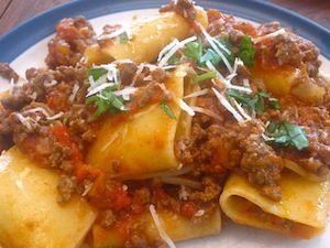 Kira Volpi's Italian meat sauce recipe collection. A great collection of meat sauces from a traditional bolognese sauce to a belly warming ragu pasta sauce.