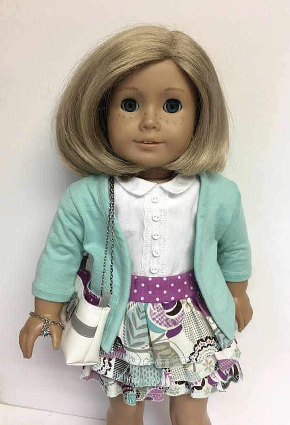 """American Girl BEFOREVER KITS PHOTOGRAPHER OUTFIT for 18/"""" Dolls Dress Sweater NEW"""