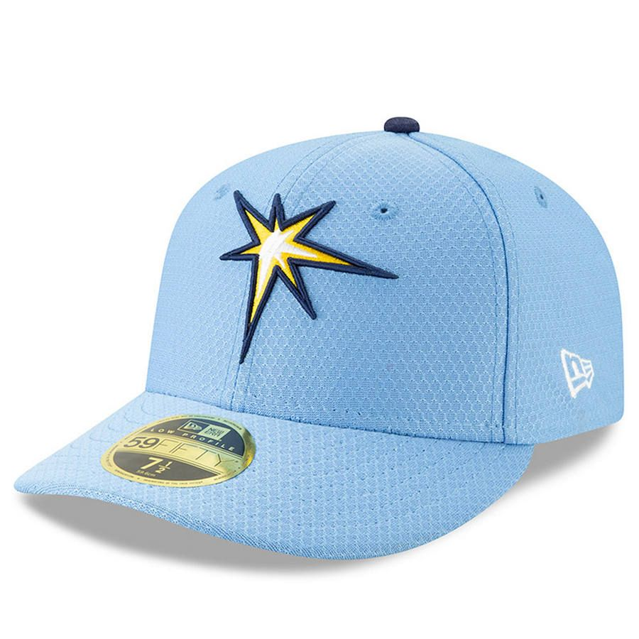 quality design c6677 4f3ce Men s Tampa Bay Rays New Era Light Blue 2019 Batting Practice Alternate Low  Profile 59FIFTY Fitted Hat, Your Price   37.99
