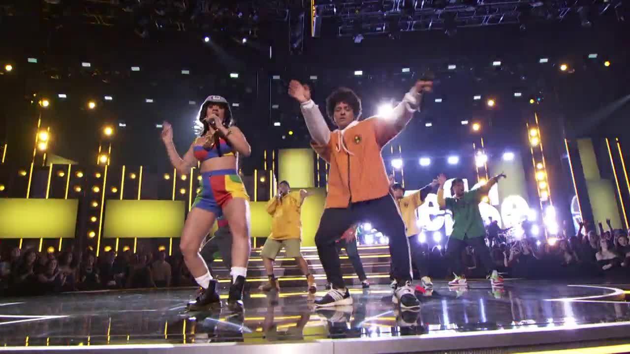 Bruno Mars Cardi Finesse Grammy Performance Grammy Com Bruno Mars Grammy Bruno