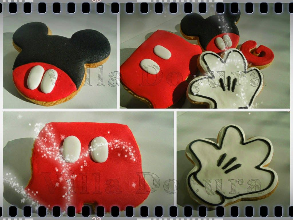 http://www.villadocura.blogspot.com.br facebook/villadocura.blogspot - Biscoitos decorados - Cookies decorados - lembranças personalizadas - aniversário - mickey