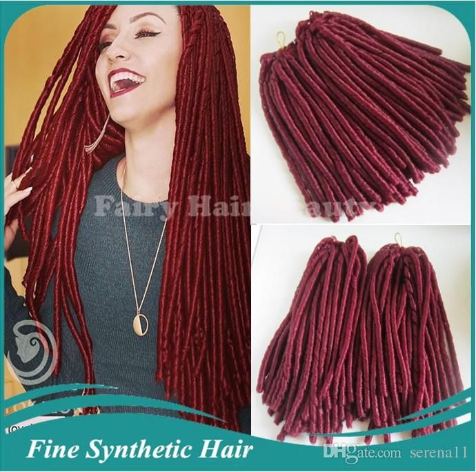 2016 new products synthetic dreads black color fake hair 2016 new products synthetic dreads black color fake hair extensions wholesale cheap price 15in folded 100g pmusecretfo Choice Image