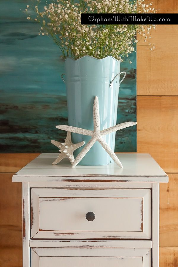 Distressed Ikea piece by Orphans with Makeup - Annie Sloan ...