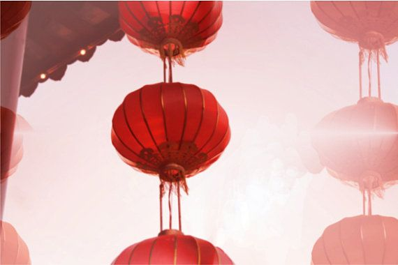 Chinese Lantern Photography Red By EyeCandyPictures 2500