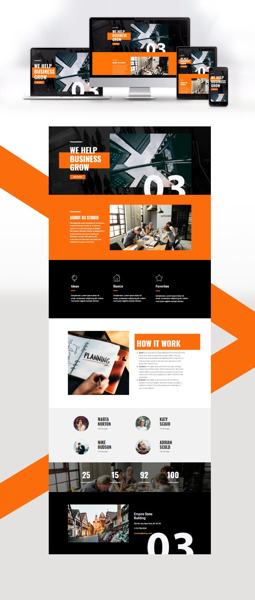 Free Template By Nicepage Builder Web Design Web Layout Design Creative Website Design