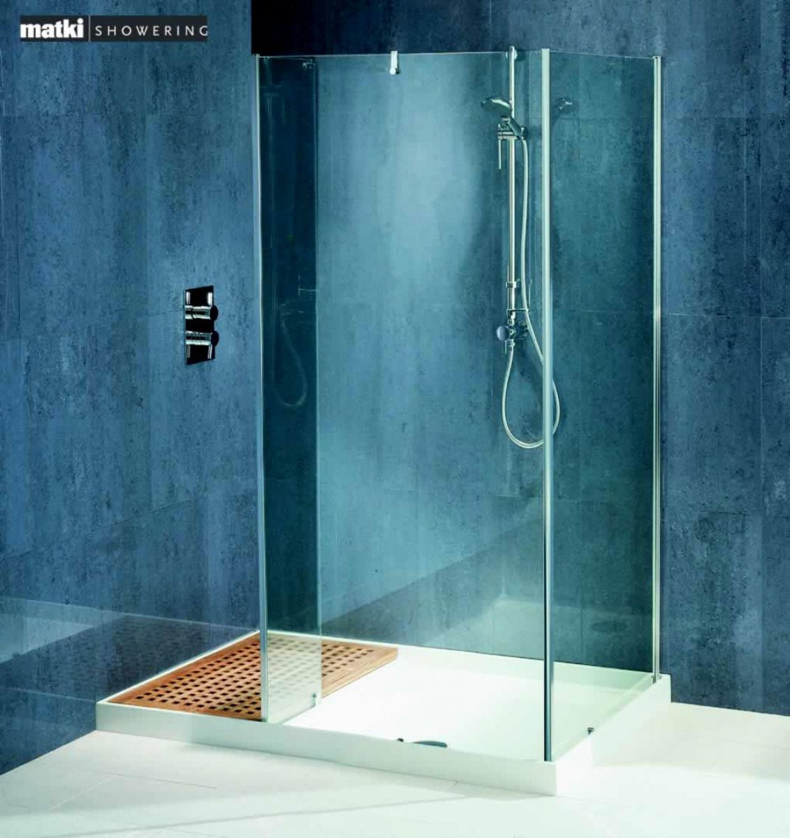 Matki Original Walk-In Corner Shower Enclosure | Family bathroom and ...
