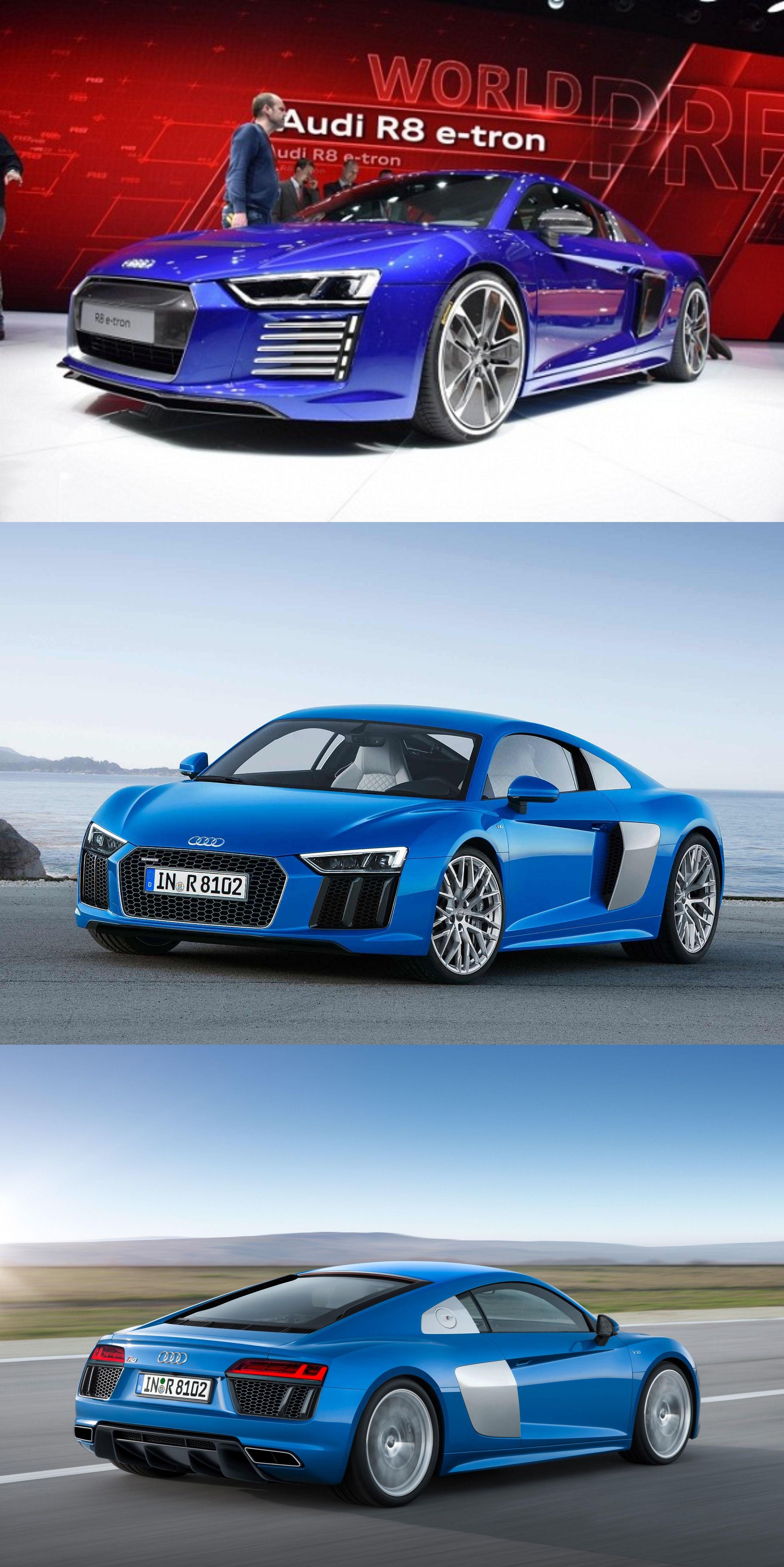 dd34b2f3991 Audi Unlatched its R8 e-tron Concept Model at CES Asia   Audi car's ...