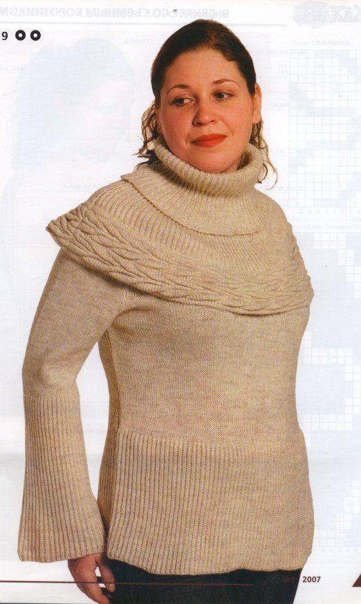 164Машинное вязание свитеров