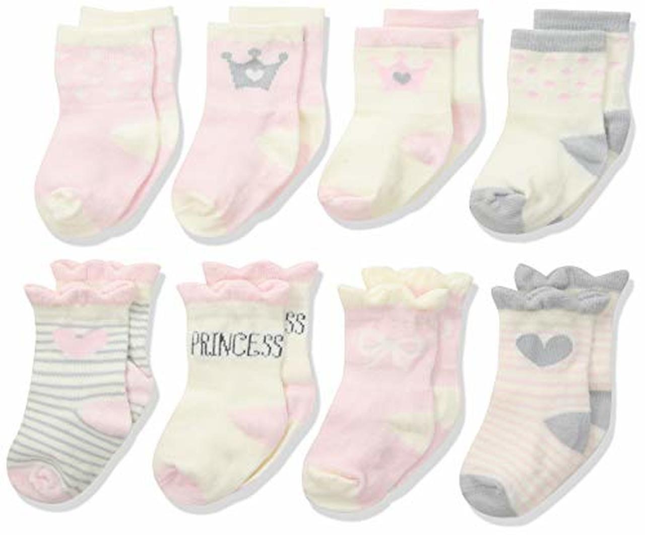 Gerber Baby 6-Pair Sock