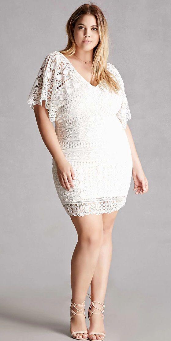 Plus Size Crochet Dress Plus Size Fashion In 2019 Crochet Plus