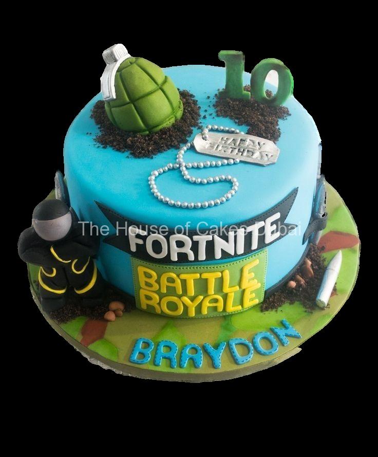 Fortnite cake 2 in 2020   10 birthday cake, Barney cake ...