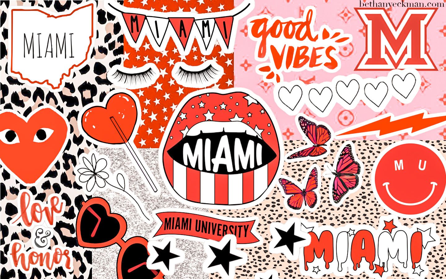 Miami University Collage In 2020 Miami Wallpaper Picture Collage Wall University Of Miami