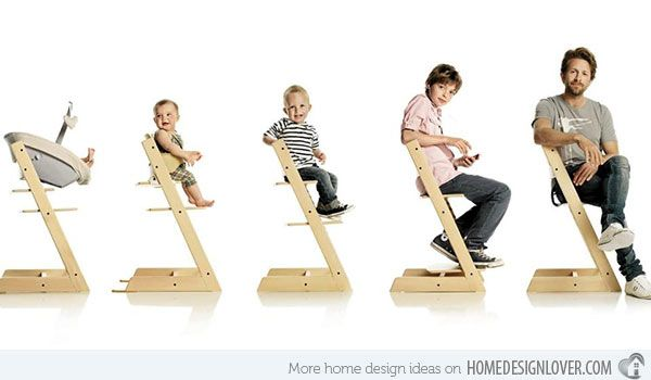 15 Modern High Chair Designs For Babies And Toddlers Home Design Lover Baby Chair Design Baby Chair Baby High Chair