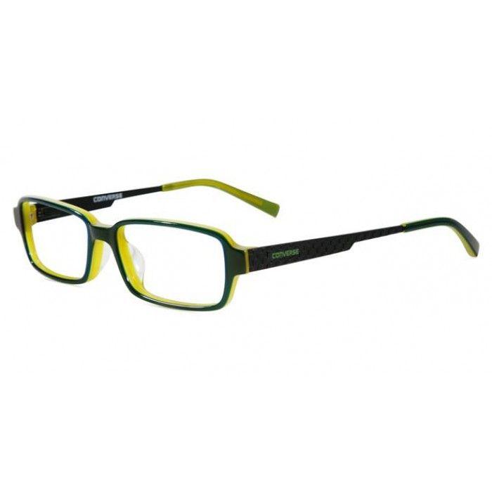 Converse Eyeglasses Q002 Green/Clear