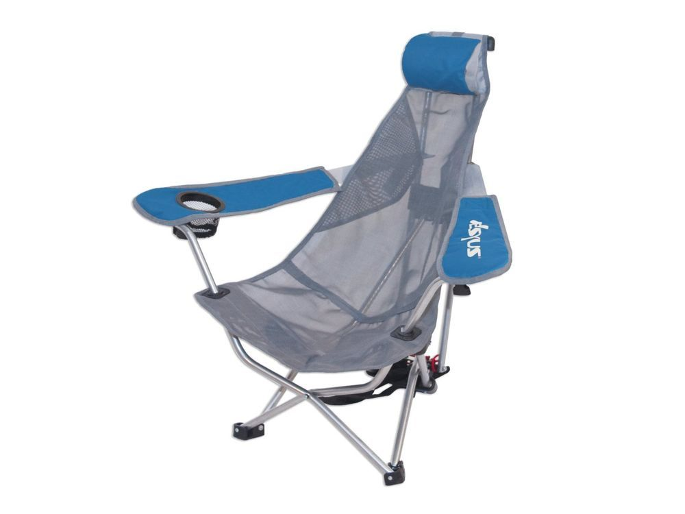Adjustable mesh backpack outdoor chair beach recliner