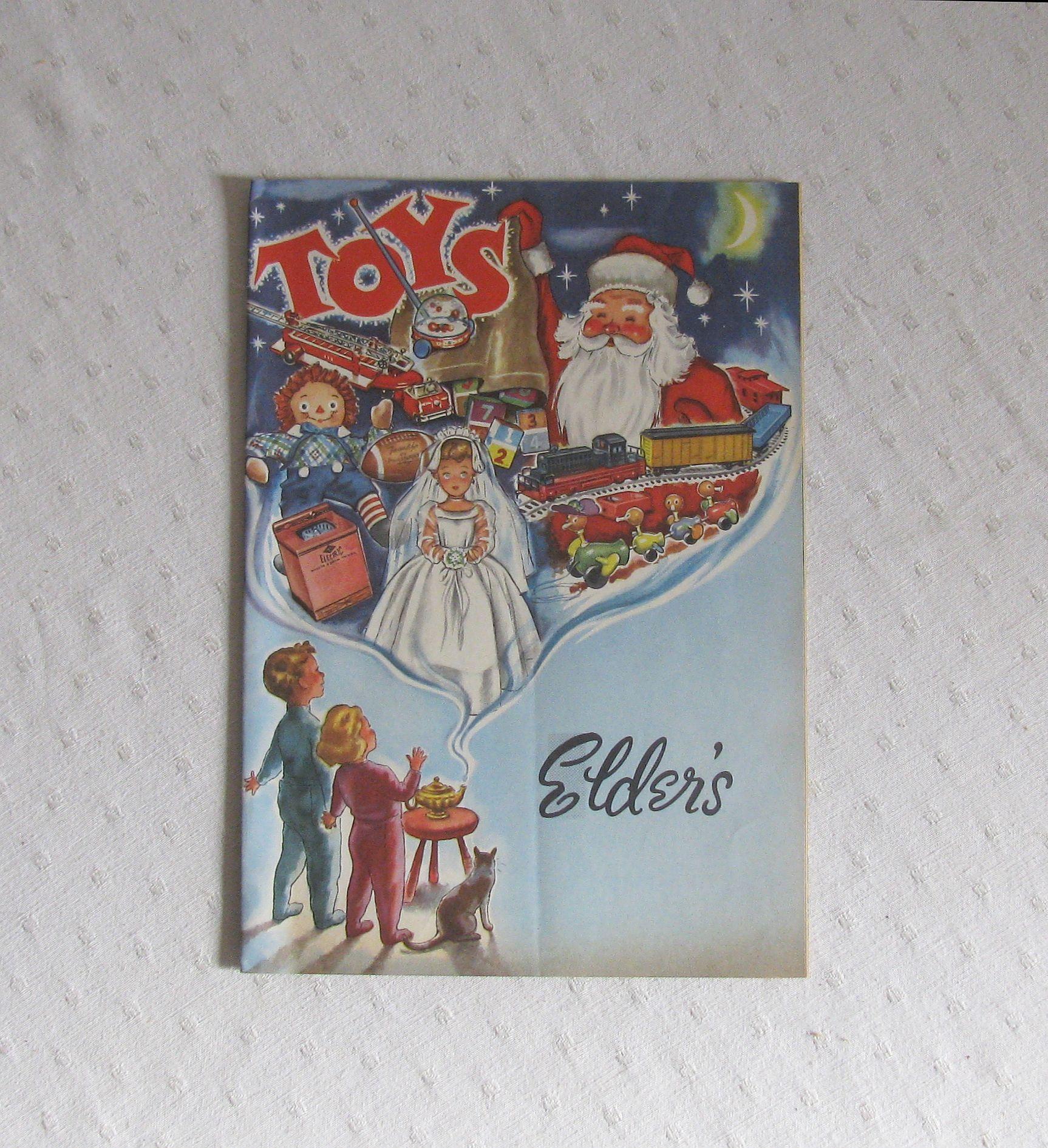 1960 Elder's Dayton Ohio Christmas Toy Catalog | Etsy | Christmas toys,  Christmas toy catalogue, Toy catalogs