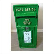 Original Irish Post Box Irish Mailbox Irish Postbox