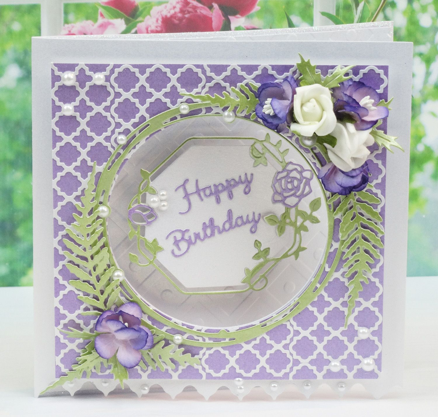 Card Making Ideas Using Tattered Lace Dies Part - 32: Happy Birthday Cards