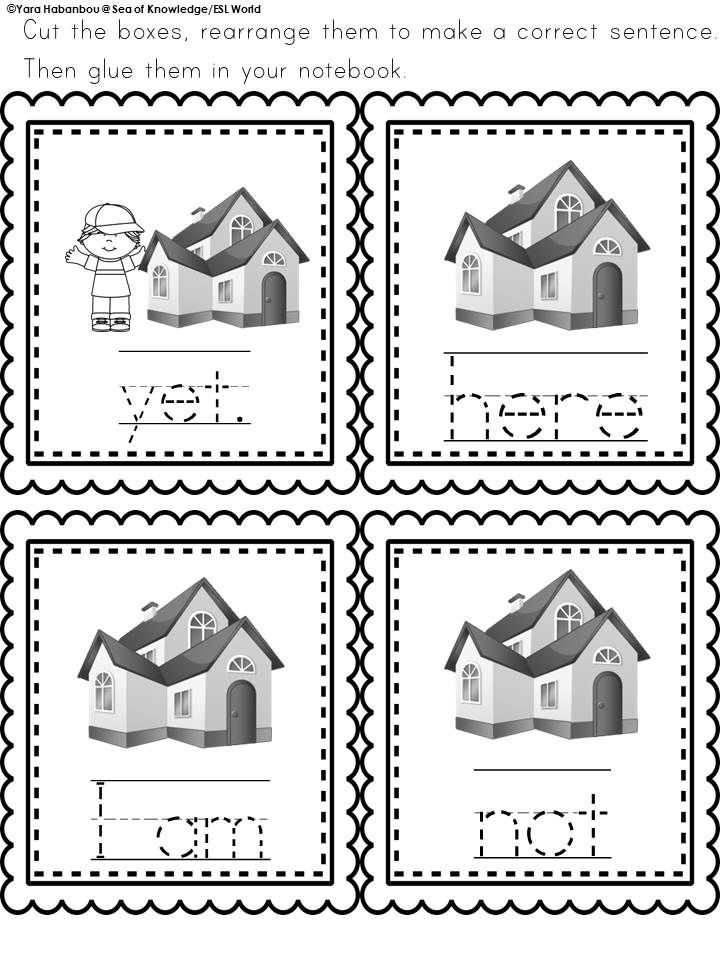 Spelling Interactive Activities Word Work Lesson 4 {Grade