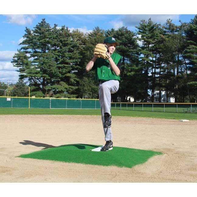 """ProMounds Green 6"""" Bronco Baseball Pitching Mound"""
