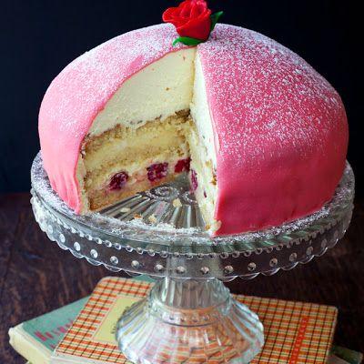 Prinsesstarta Swedish Princess Cake Recipe