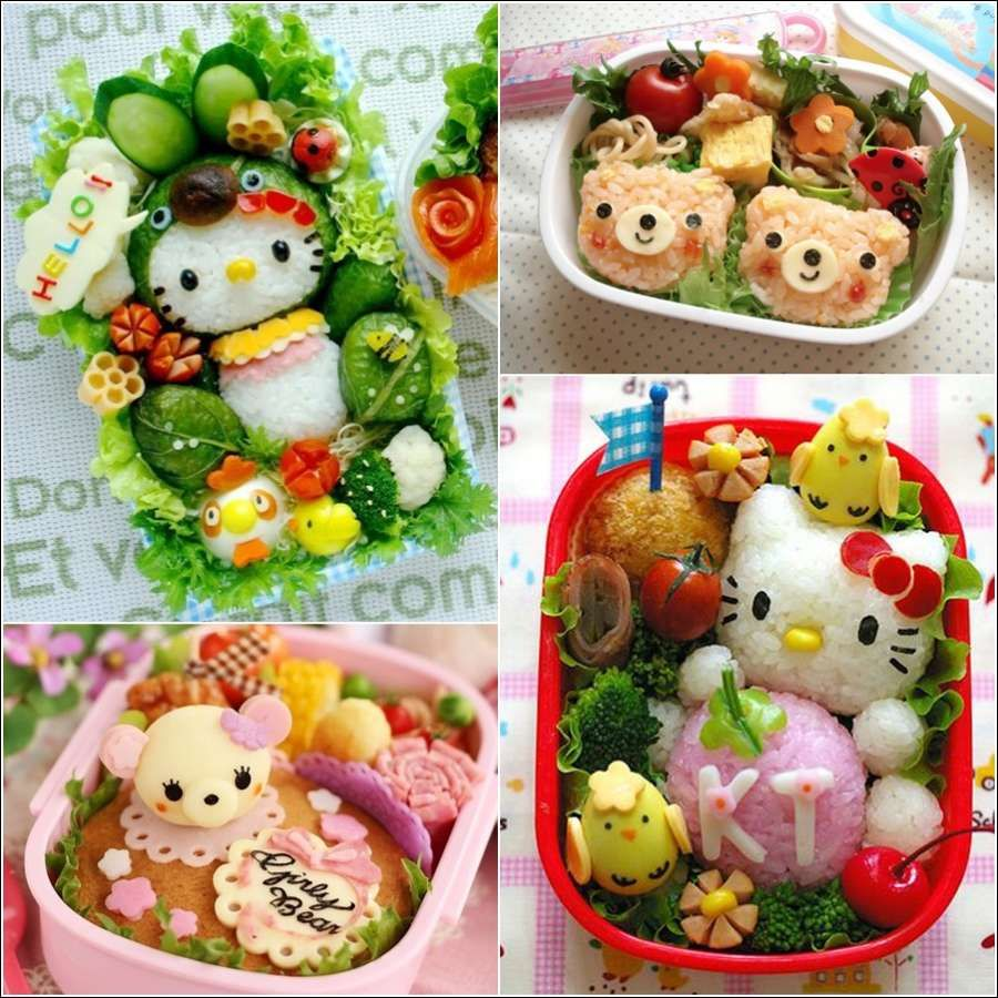 awesome Japanese Bento Box Food Art - Who Can Resist Such ...